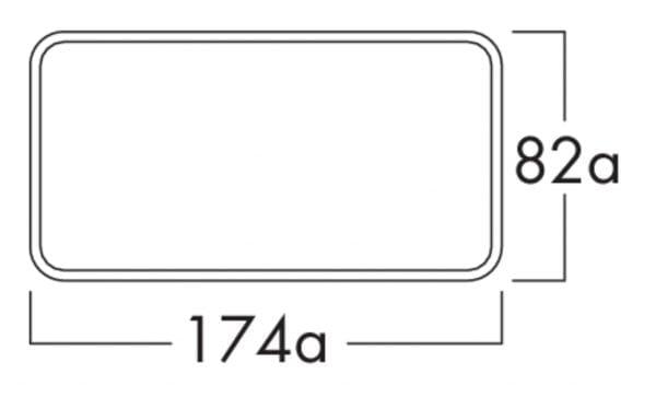 Compair Flow 125 K-Klima-R flow 125 gevelrooster