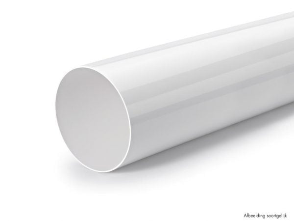 Compair Flow 150 Ronde buis, Luchtafvoer, wit, L 900 mm