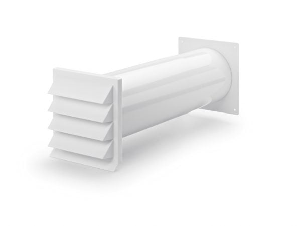 Compair Flow 150 K-Klima-R muurdoorvoerunit, wit