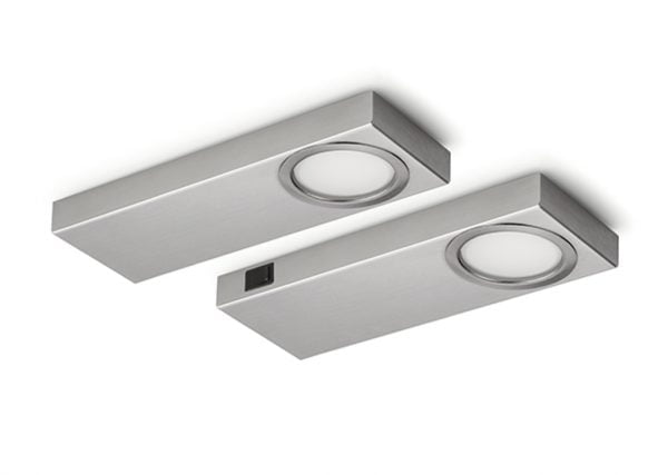 Rea 1 LED, Onderbouw-/nislamp., Set-2, 4000 K neutralweiァ