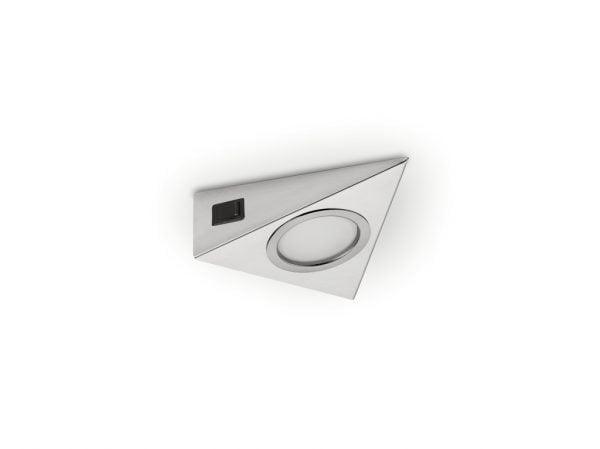 Razzo 1 LED, Onderbouw-/nislamp., Afzonderlijke lamp met schakelaar