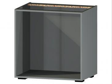 Onderkast zonder front, 78cm hoog, 80cm breed