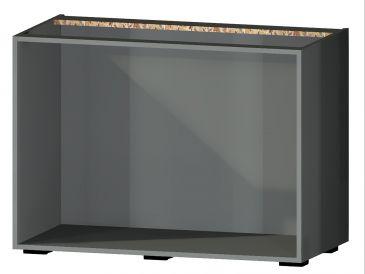 Onderkast zonder front, 78cm hoog, 120cm breed