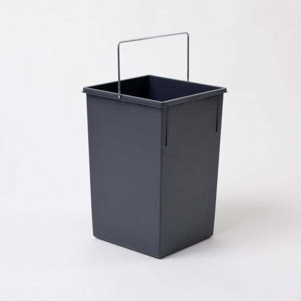 Reserve emmer., grafietgrijs, 15 liter