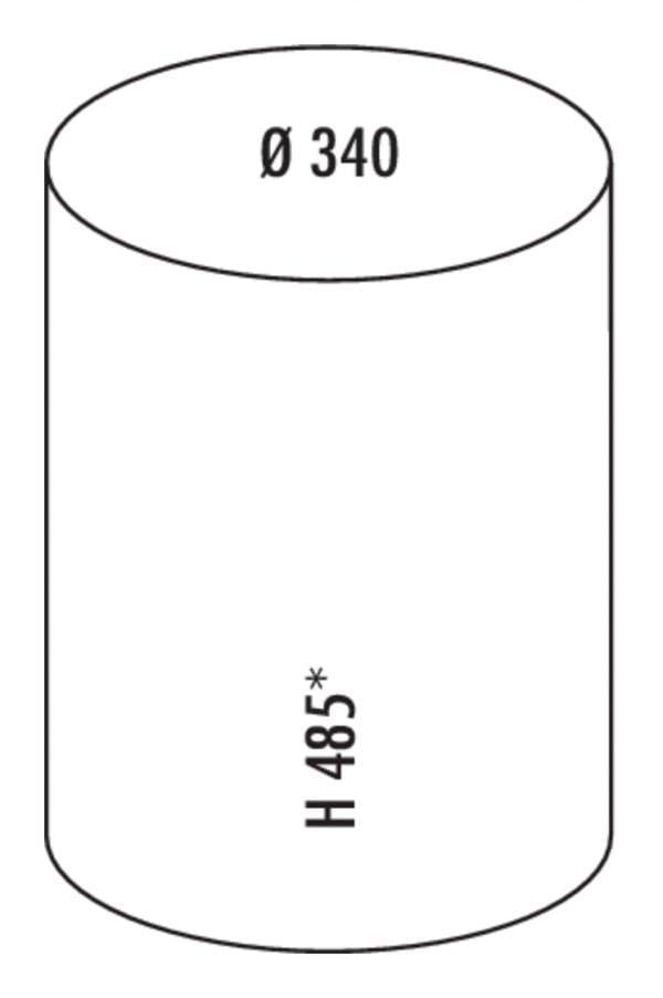 Rondo 3, Afvalverzamelsysteem voor Zwenktechniek., wit