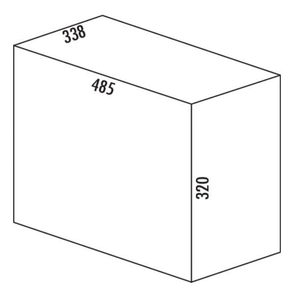 Trenta 6, Afvalverzamelsystemen voor draaideuren., alu grijs