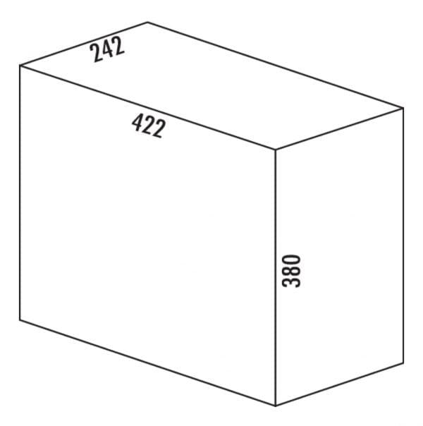 Solo 3632, Afvalverzamelsystemen voor draaideuren., grafietgrijs