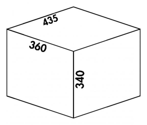 Claxィ 3 plus/500-3, Afvalverzamelsystemen voor draaideuren., alu grijs