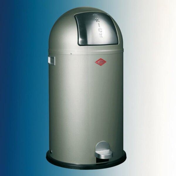 Kickboy, Afvalverzamelsysteem voor vrijstaande container., nieuwzilver