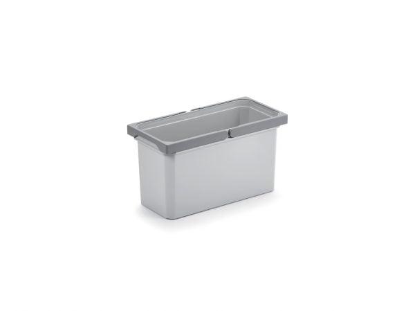 Reserve emmer., lichtgrijs, 10 liter