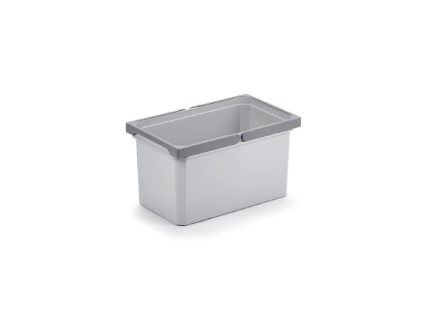 Reserve emmer., lichtgrijs, 13 liter
