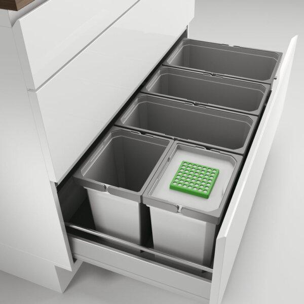 Coxィ Box 275 S/1000-5 Bio, Afvalverzamelsysteem voor voorhanden uittreksystemen., lichtgrijs