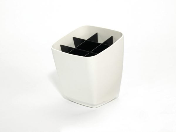 Linero MosaiQ Koker, Relingsysteem., wit, RAL 9003