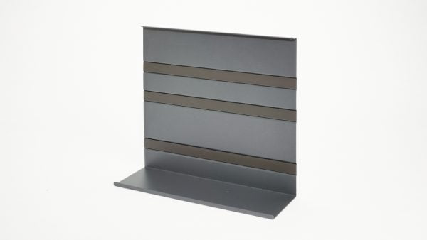 Linero MosaiQ Universeel legbord 3, Relingsysteem., grafiet zwart