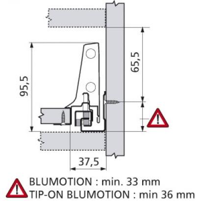 ANTARO Blum lade M Blumotion 106mm