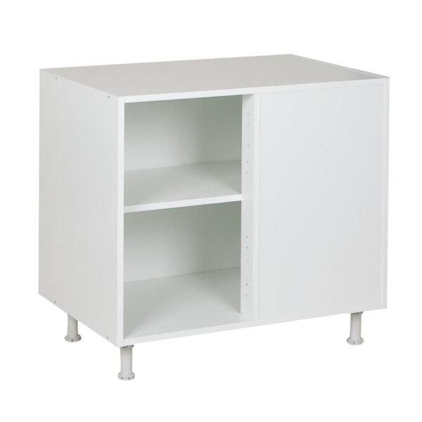 Keukenkasten zonder front, hoekkast, kleur wit, H782mm
