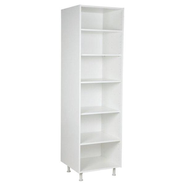 Keukenkasten zonder front, Hoge kast, kleur wit, H2000mm