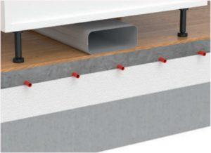 Naber Compair Steel Flow luchtafvoer systeem inbouwmethode 3