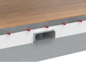 Naber Compair Steel Flow luchtafvoer systeem inbouwmethode